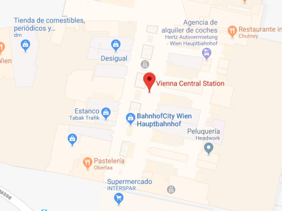 La joven fue apuñalada con un cuchillo de unos 20 centímetros, en la estación central de Viena.