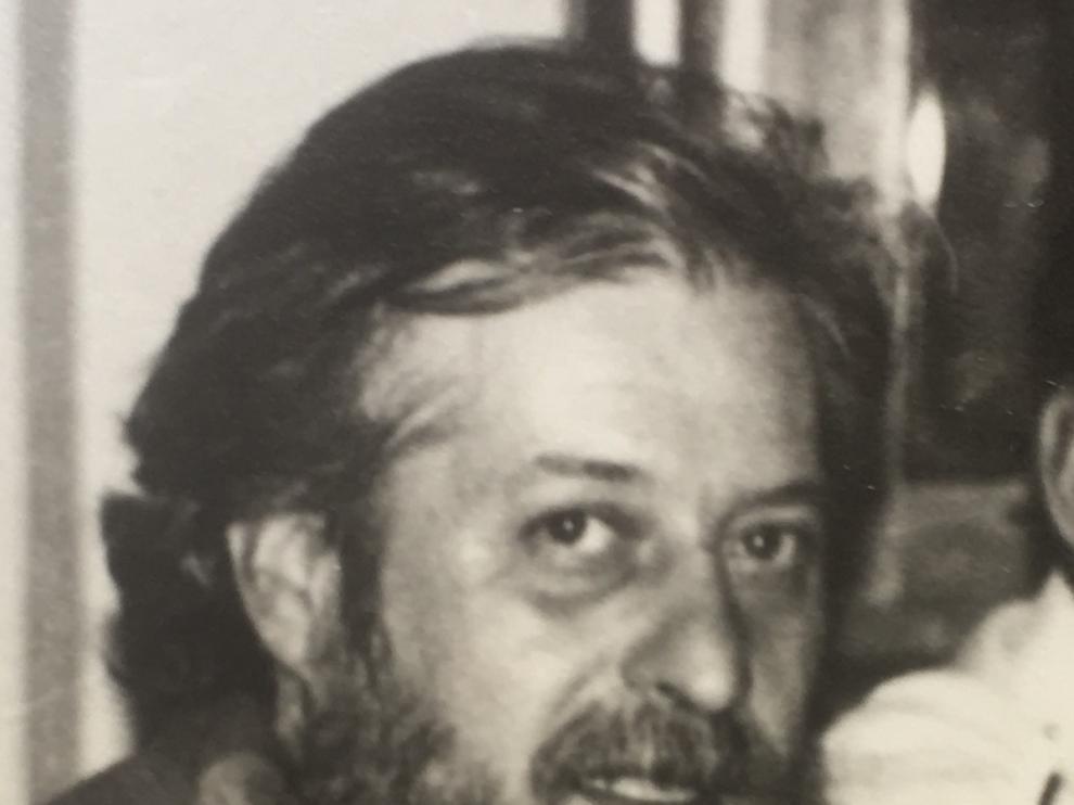 Modest Solans, en una foto tomada en Guadix en 1994.