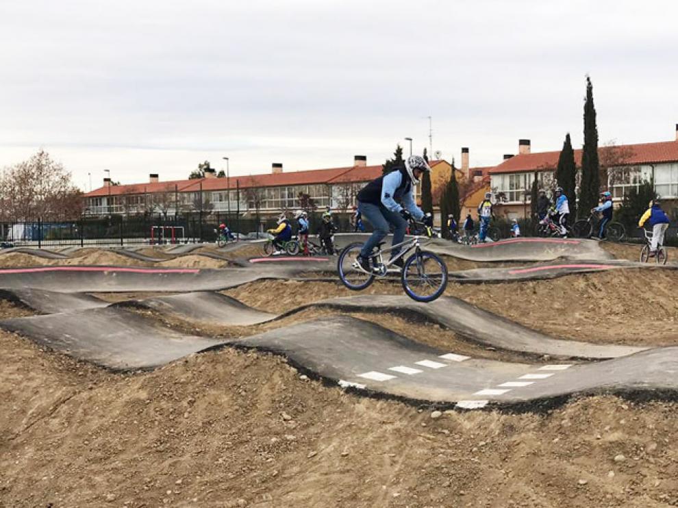Circuito de 'pump-track' de Parque Goya