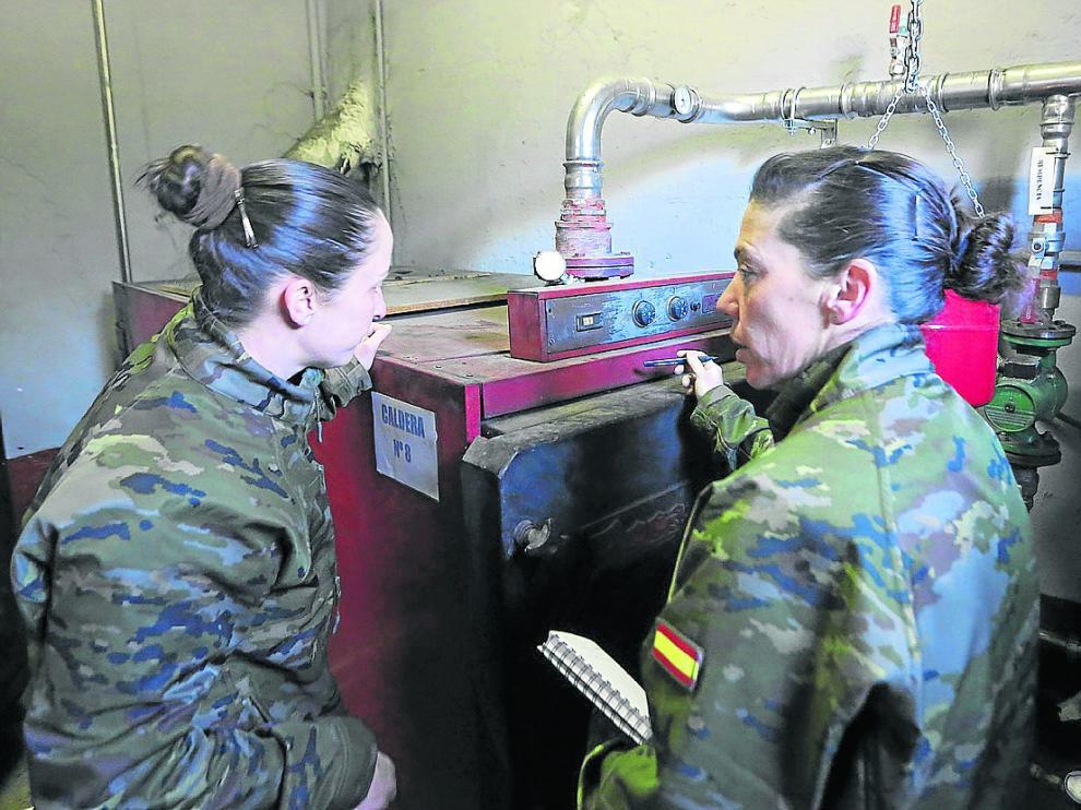 Las obras para poner en servicio el cuartel, tras un año cerrado, empezaron en enero de 2018.