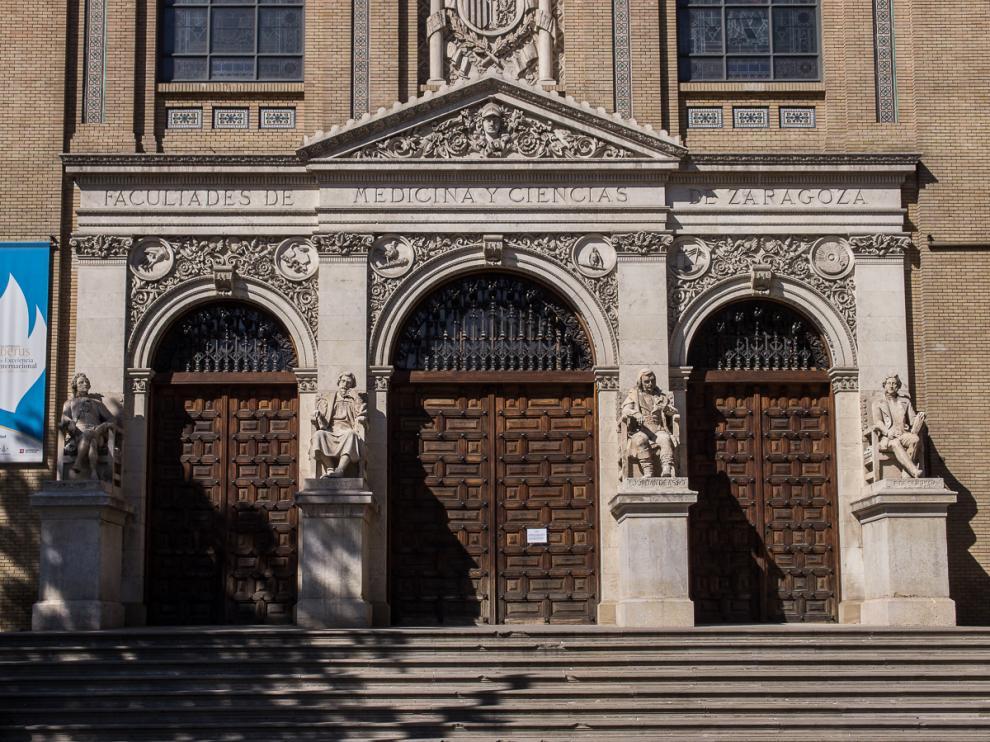 Edificio Paraninfo de Zaragoza.