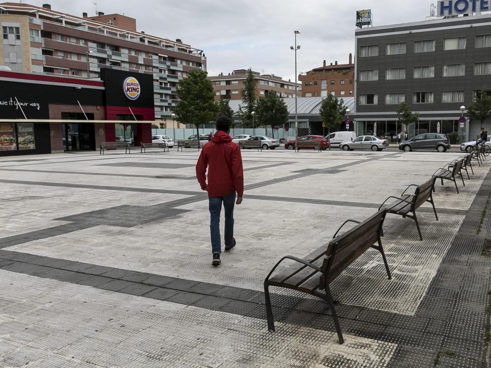 Un establecimiento de Burguer King de Huesca.