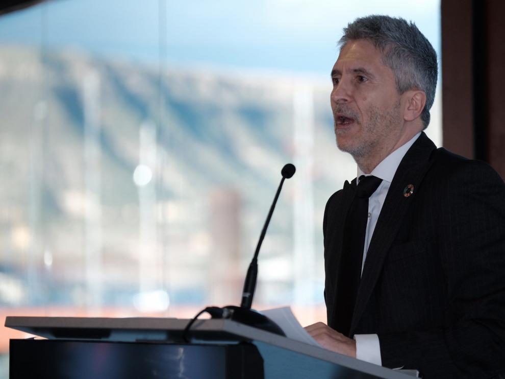 El ministro de Interior, Fernando Grande-Marlaska.