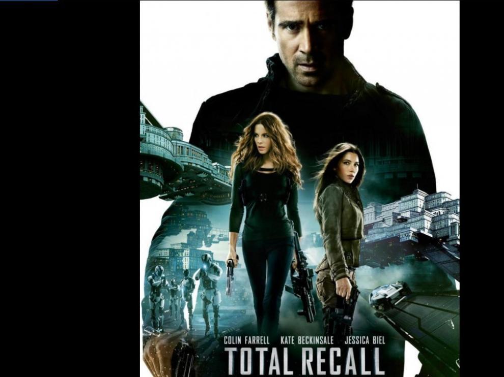 'Desafío total' ('Total recall', Len Wiseman, 2012)