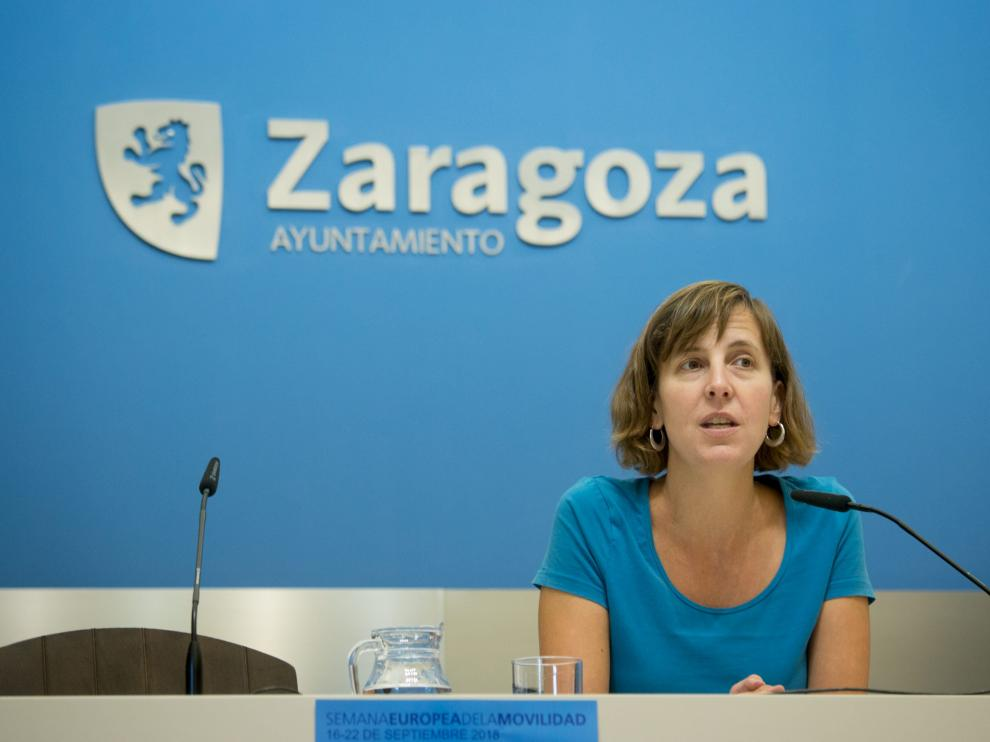 La concejala de Medio Ambiente y Movilidad, Teresa Artigas, en una imagen de archivo.