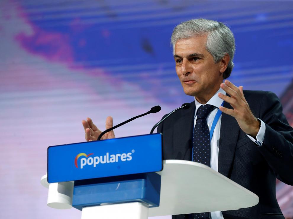 El presidente de la fundación Concordia y Libertad, Adolfo Suárez Illana.