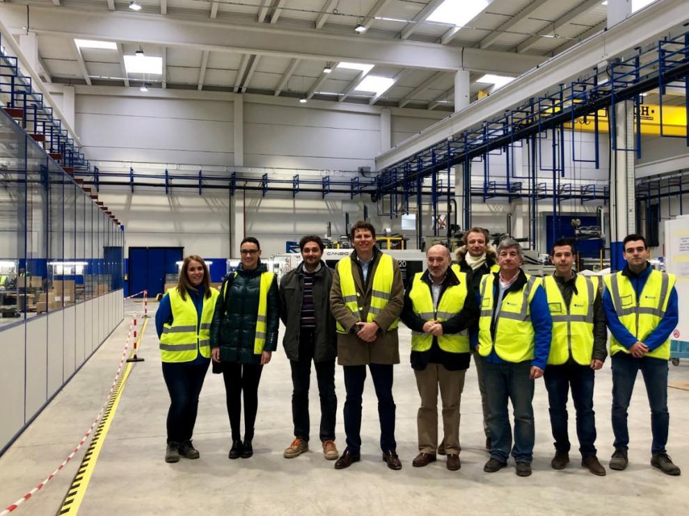 La nueva planta de Sigit en Calatayud ya está en funcionamiento