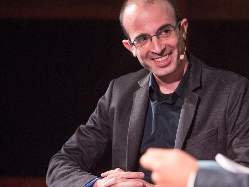 Yuval Noah Harari, autor de 'Sapiens', en una conferencia.