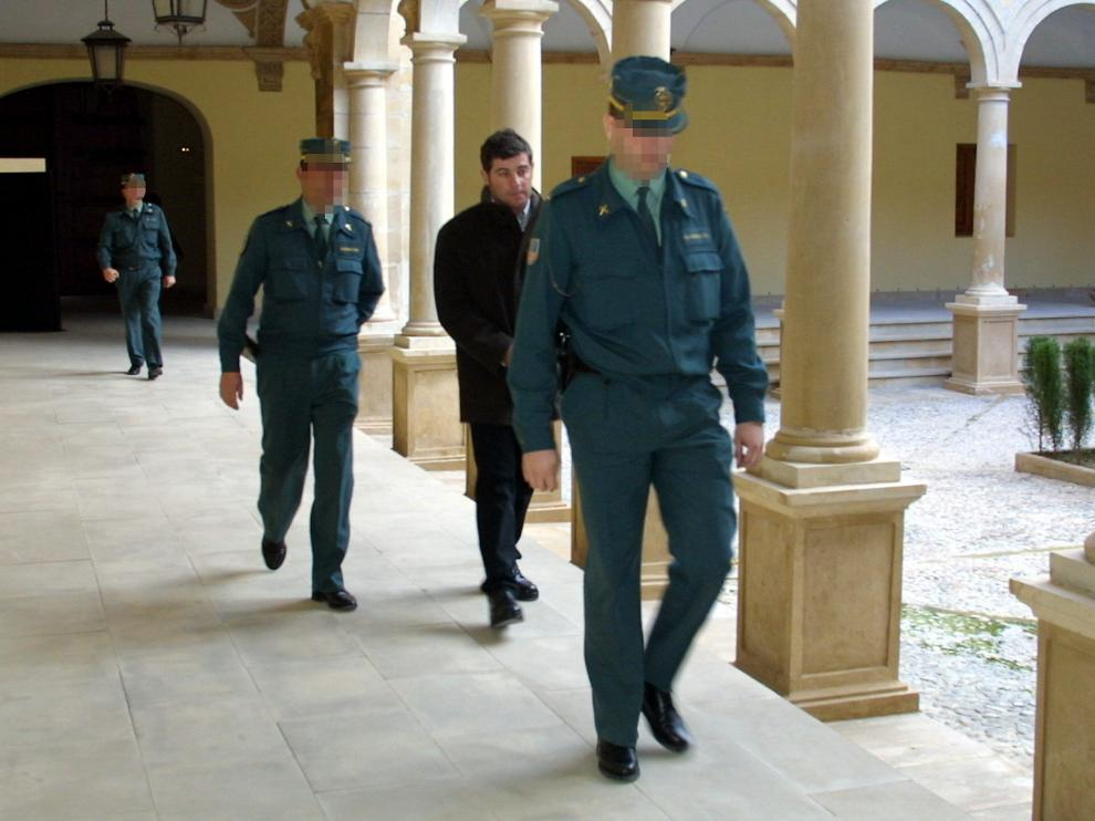 José Javier Salvador, en 2005 en la Audiencia Provincial de Teruel
