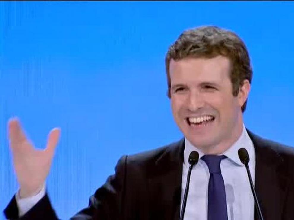 """Pablo Casado: """"No se puede unir España desuniendo el voto"""""""