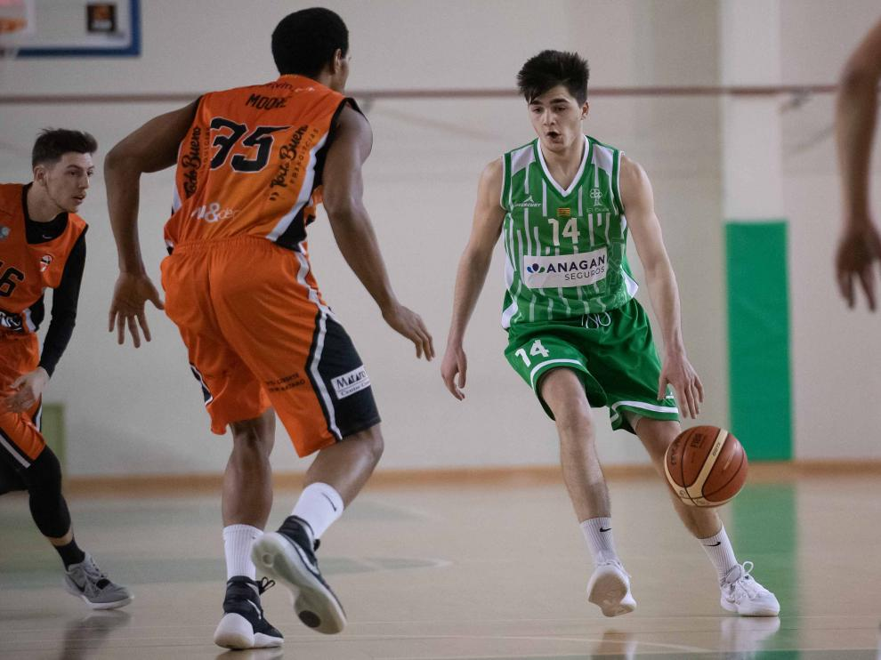 Baloncesto. Liga EBA Anagan Olivar vs Mataró