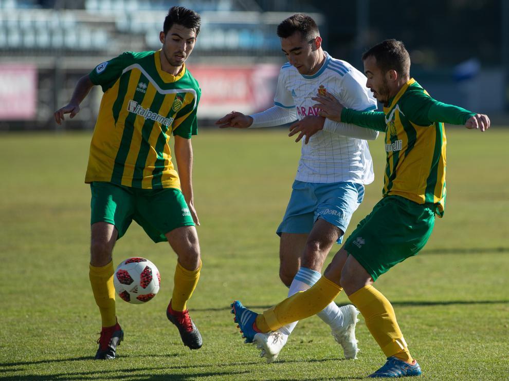 Fútbol. Tercera División RZD Aragón vs La Almunia