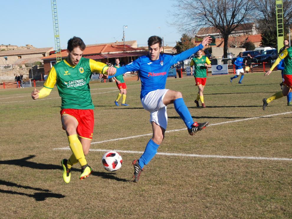 Fútbol. Tercera División San Lorenzo vs Utebo