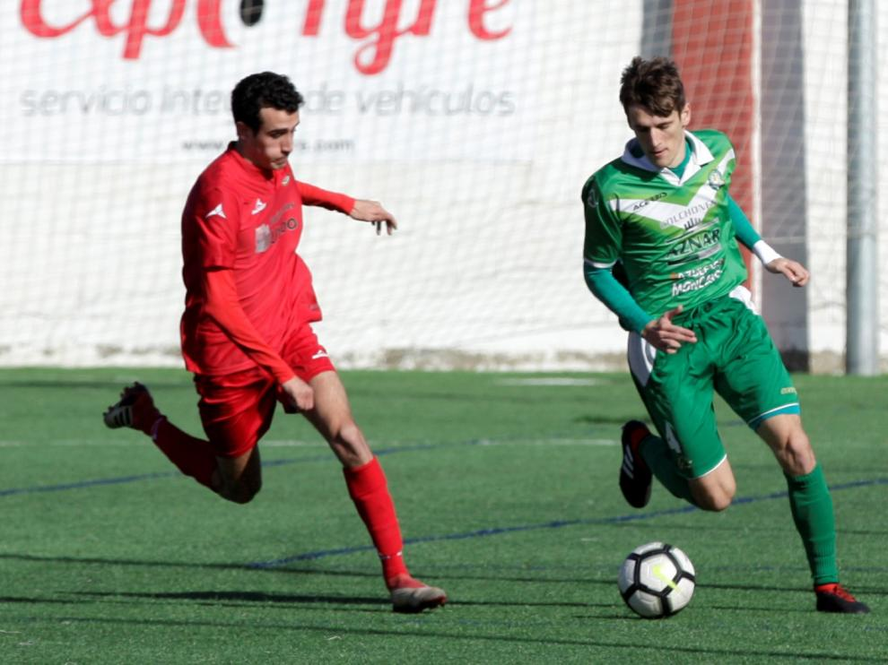Fútbol. Regional Preferente Zaragoza 2014 vs Cuarte.
