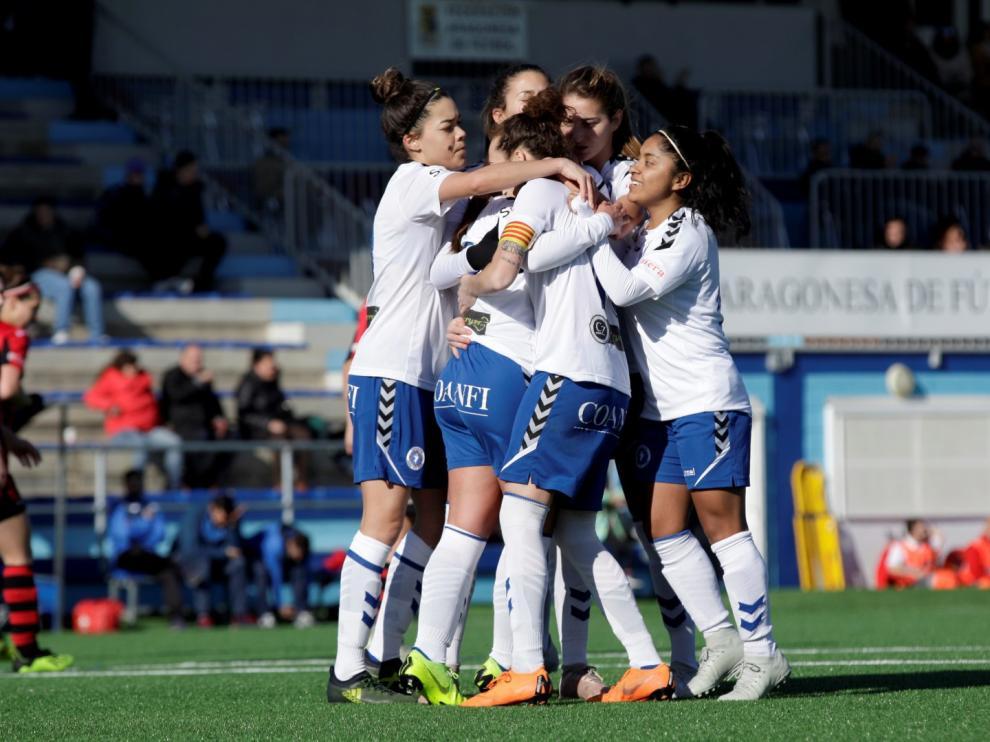 Futbol. Segunda División Femenina Zaragoza CFF vs Pradejón