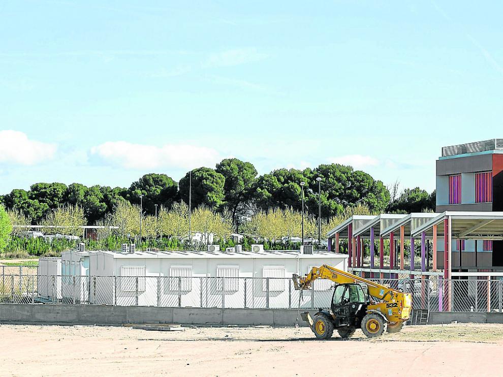 Los barracones del Rosales del Canal, aulas puente del Arcosur, se desmontaron el pasado abril
