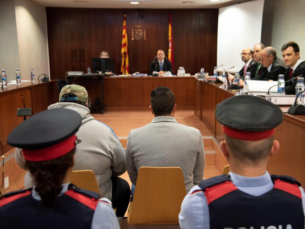 Imagen de archivo del juicio.