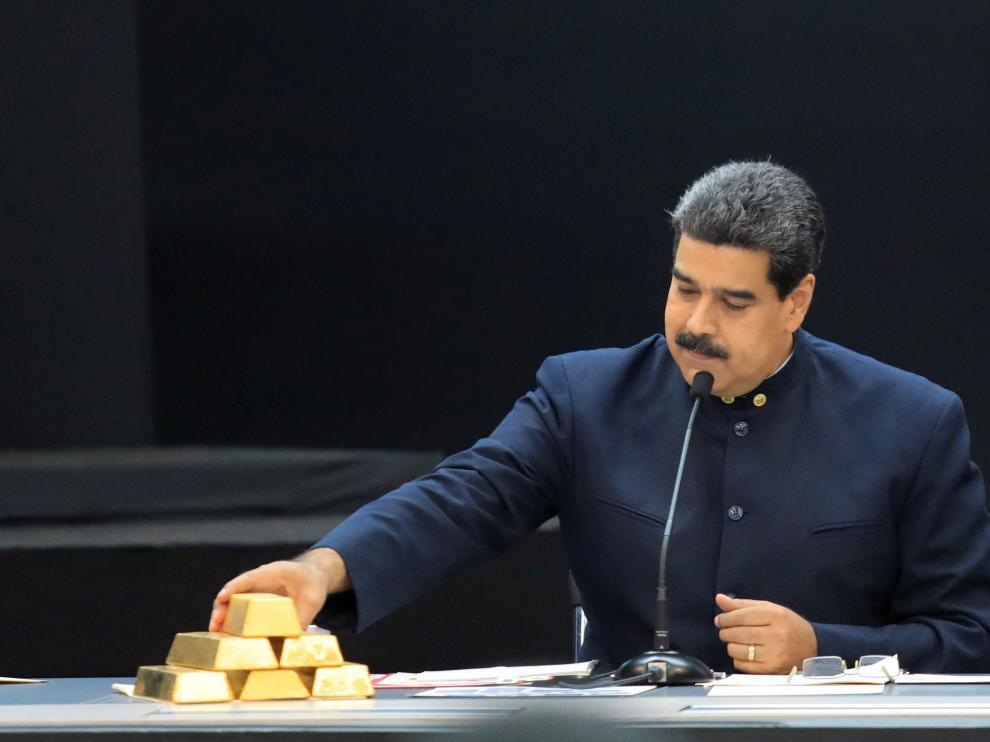 El presidente de Venezuela, Nicolás Maduro, en una imagen de archivo del pasado mes de marzo.