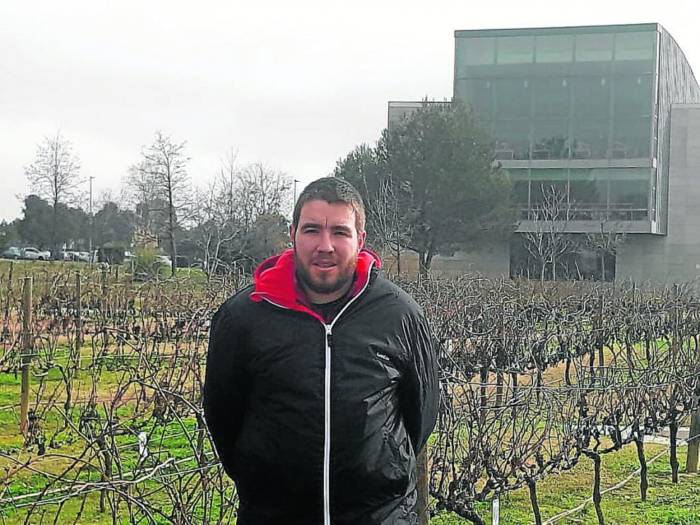 Carlos Molina, técnico de la asociación aragonesa de agricultura de conservación.