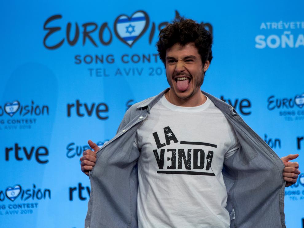 El candidato español en Eurovisión 2019, Miki.