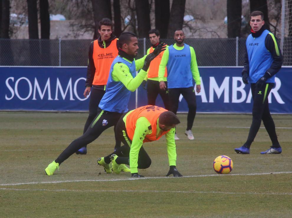 Herrera, en la imagen, aspira a la titularidad en San Sebastián por las lesiones de Musto y Melero.