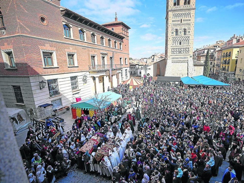 La escena final de Las Bodas de Isabel de Segura se celebrará en la plaza del Seminario de Teruel