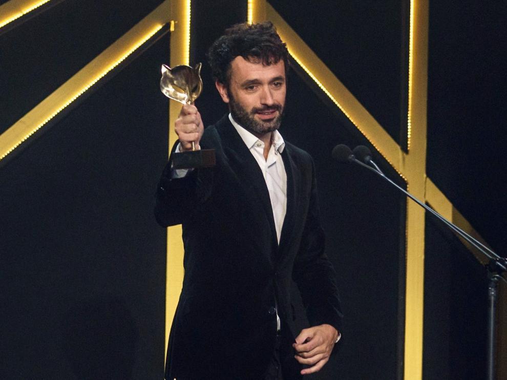 El español Rodrigo Sorogoyen, director del cortometraje 'Madre' nominado al Óscar.