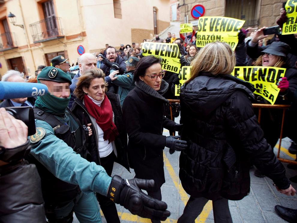 La ministra de Transición Energética, Teresa Ribera, en Andorra