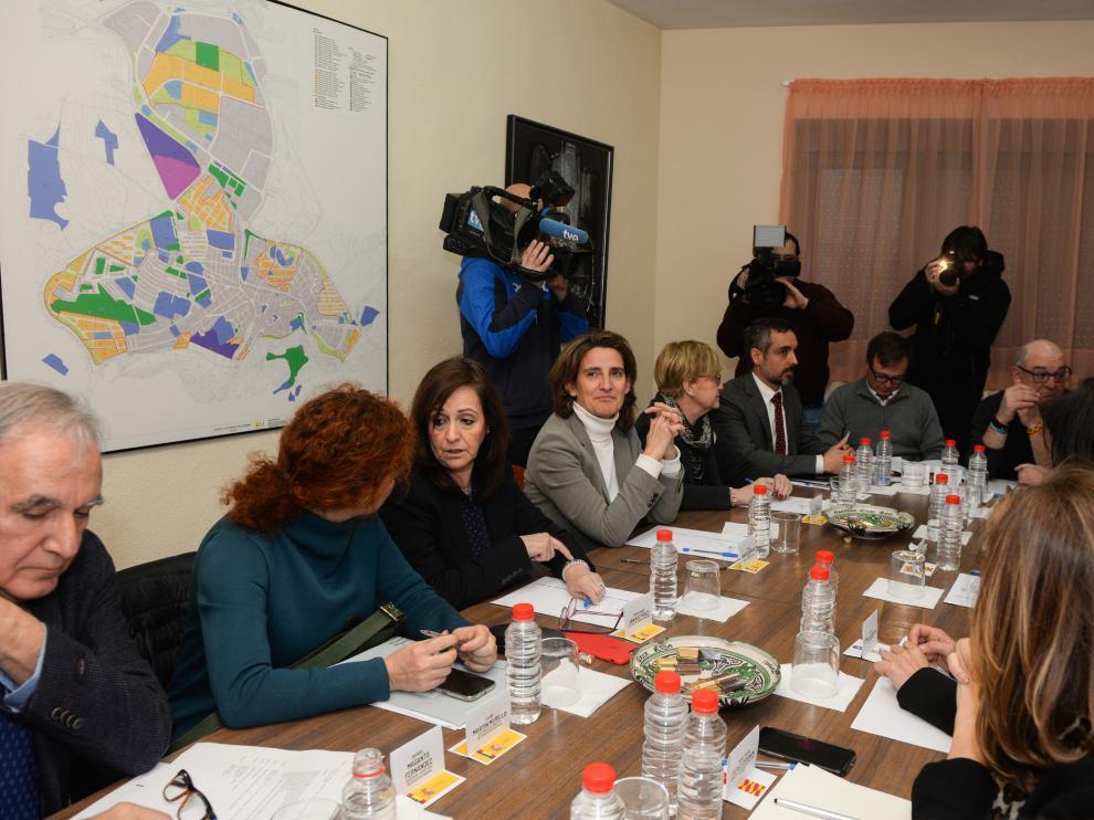 Tensión en Andorra durante la visita de la ministra Ribera