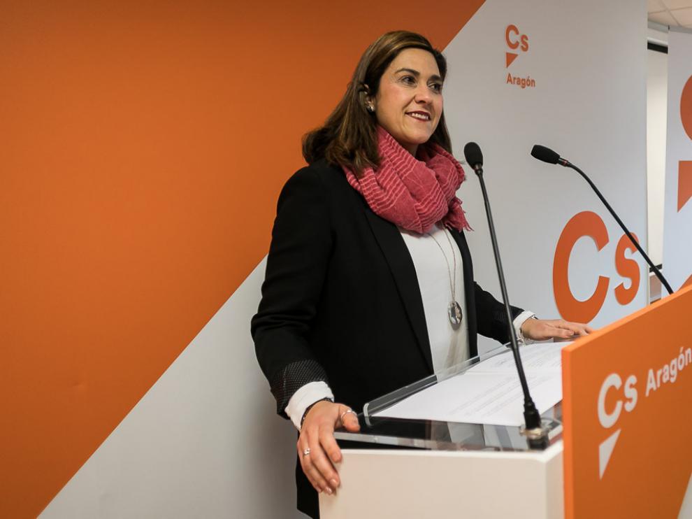 Susana Gaspar, portavoz de Ciudadanos.