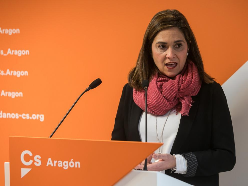 Susana Gaspar renuncia a las primarias autonómicas de Ciudadanos Aragón