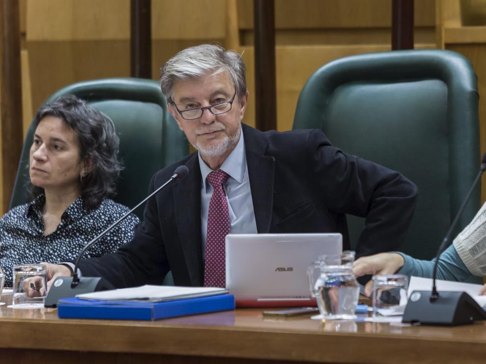 El alcalde de Zaragoza, Pedro Santisteve, en imagen de archivo.