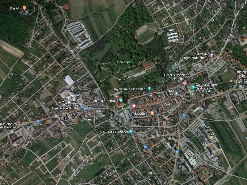 La mujer, de 87 años, desapareció tras subirse a una limusina negra en la ciudad austriaca de Eisenstadt.