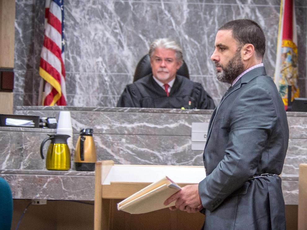 Pablo Ibar comparece este jueves ante el tribunal estatal de Florida.
