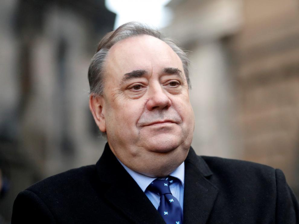 El ex ministro principal del Gobierno de Escocia, Alex Salmond, en imagen de archivo.