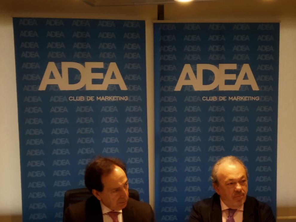 Salvador Arenere, presidente de ADEA y José Guillén, secretario general.