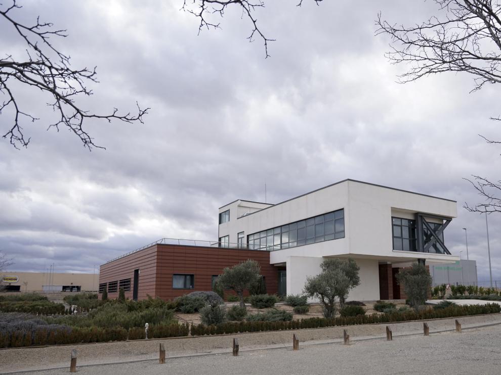 Imagen de las instalaciones del Centro de Innovación en Bioeconomía Rural de Teruel.
