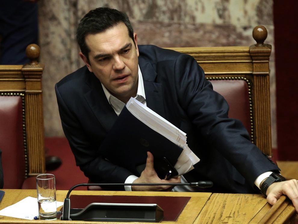 El primer ministro griego, Alexis Tsipras.