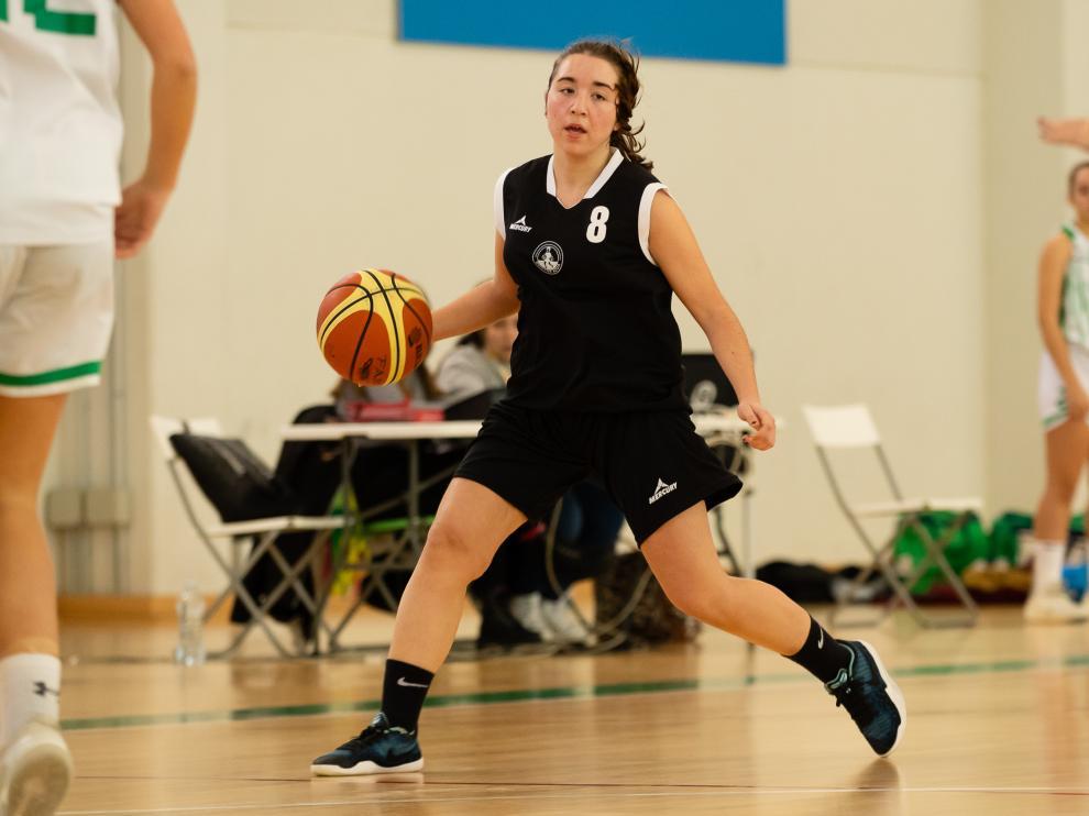 Baloncesto. Junior Femenino- El Azúa venció por la mínima al Stadium Casablanca B
