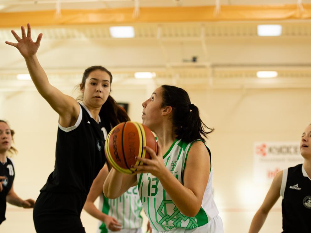 Baloncesto. Junior Femenino- El Olivar vs. Azúa