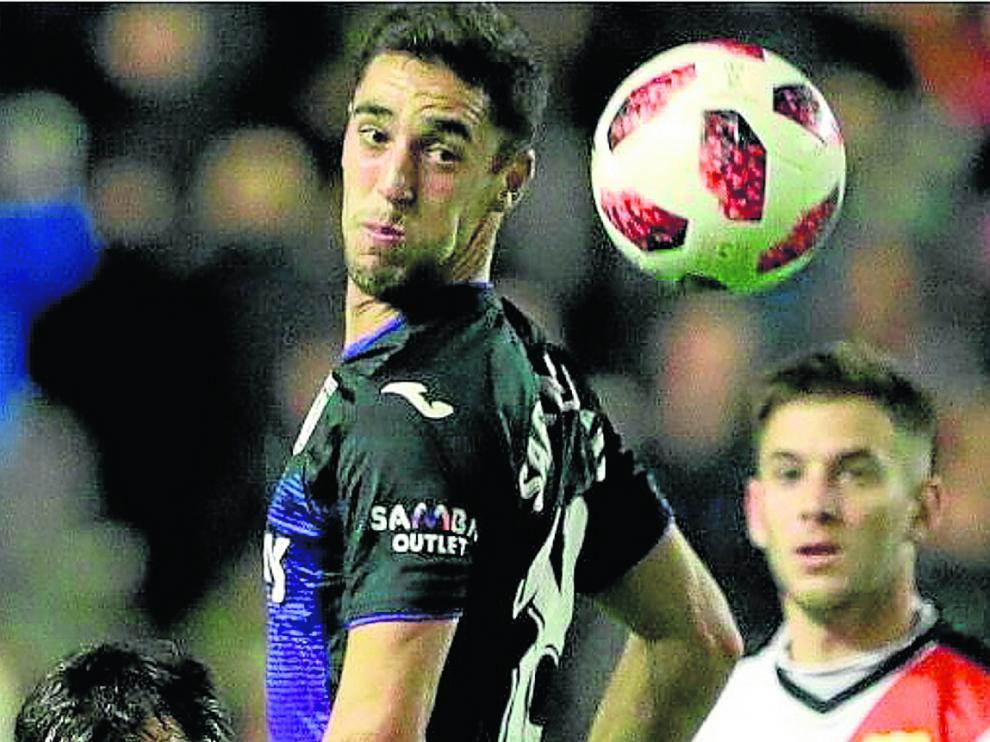 Dorado, en el Rayo Vallecano-Leganés de Copa del Rey de este año.