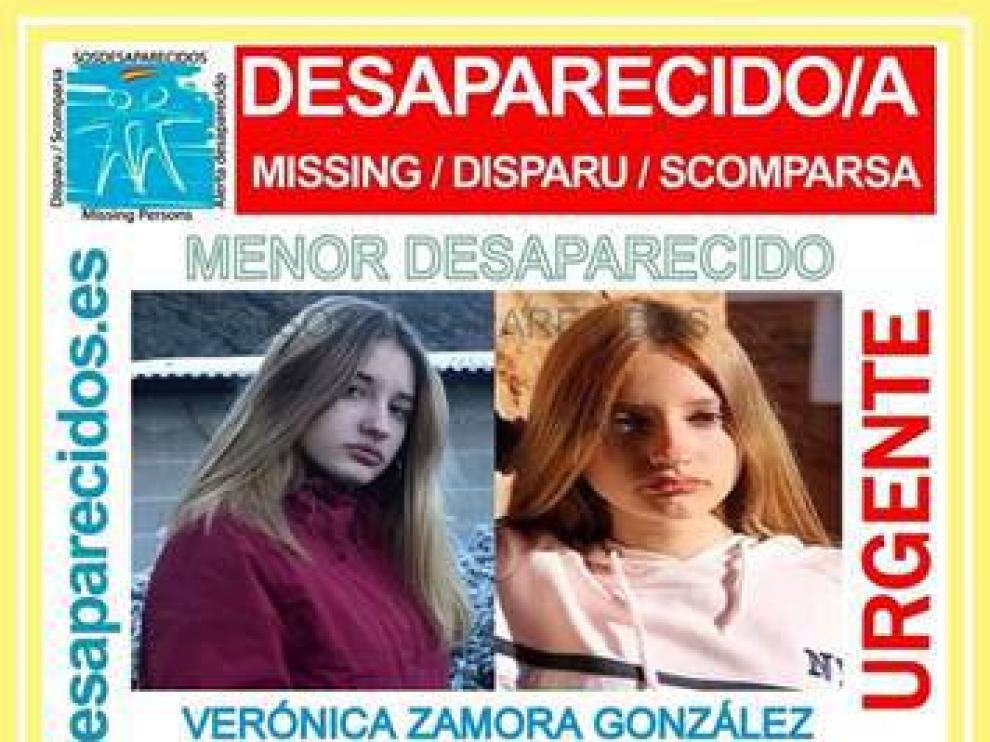Verónica Zamora González, la joven desaparecida en Ponferrada