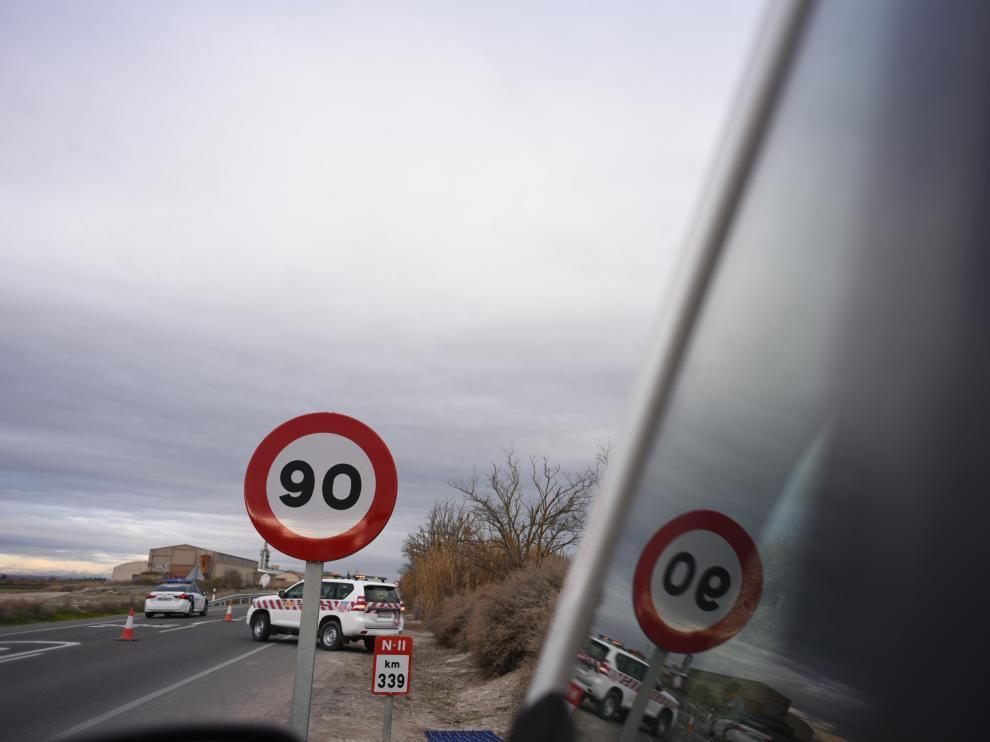 Adiós a los 100 km/h en las carreteras convencionales de Aragón
