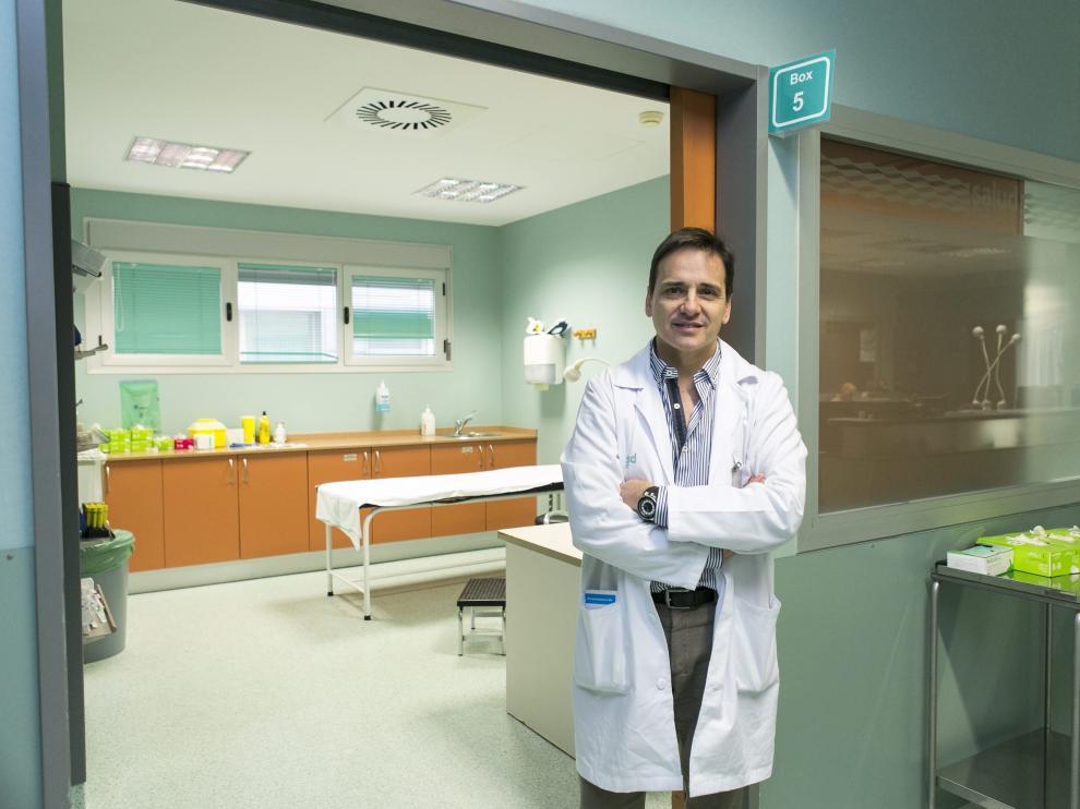 Javier Povar, coordinador de Urgencias del Hospital Miguel Servet de Zaragoza.