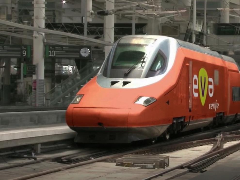 El EVA será más barato que el AVE para los viajeros.