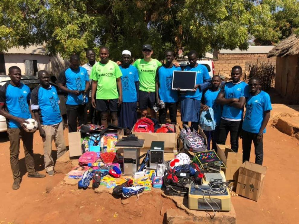 Una carrera aragonesa en el corazón de Senegal