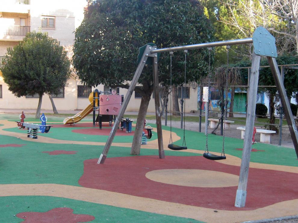 Una de las obras de mayor envergadura ha sido la de la plaza de Pablo Serrano.