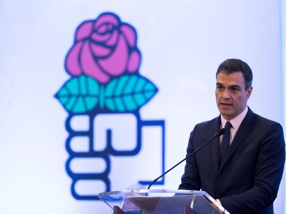 Pedro Sánchez en el consejo de la Internacional Socialista que se ha celebrado en Santo Domingo