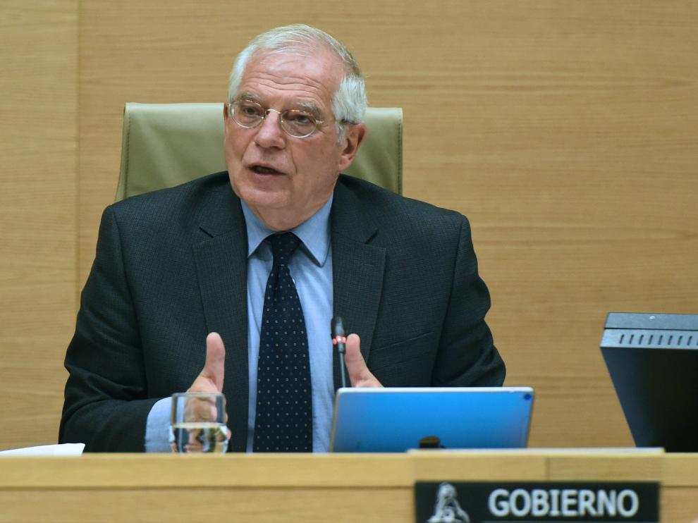 El ministro de Asuntos Exteriores y Cooperación, Josep Borrell.