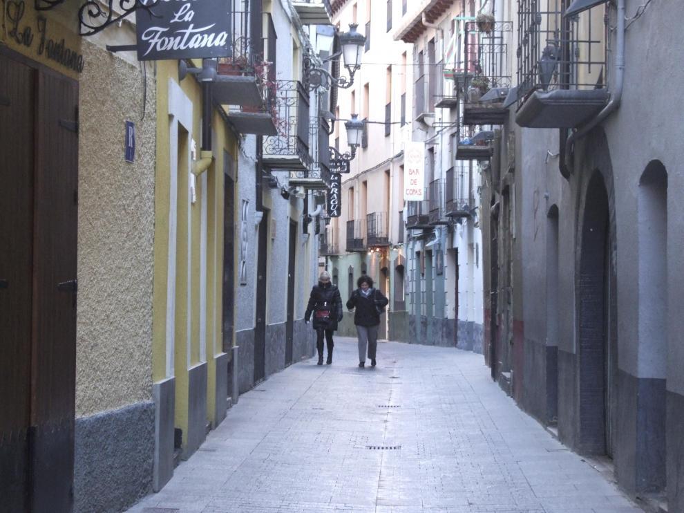 Imagen de la calle Gil Berges, donde se produjo la presunta agresión hace cinco años